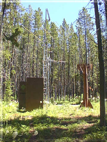 Photograph is of the Nevada Ridge          SNOTEL site.