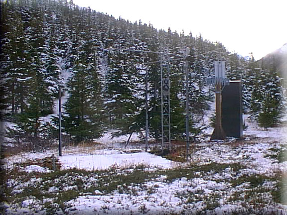 Photograph is of the Indian Pass           SNOTEL site.