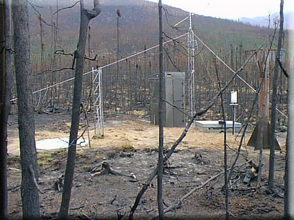 Photograph is of the Monument Creek  SNOTEL site.
