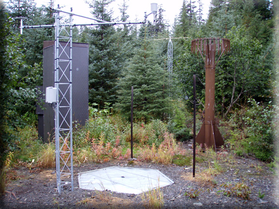 Photograph is of the Grouse Creek Divide   SNOTEL site.