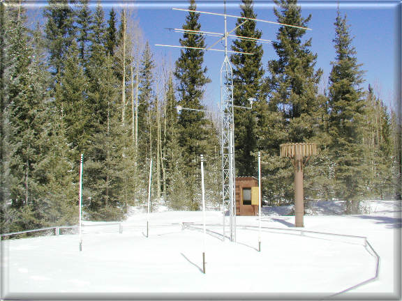 Photograph is of the Clayton Springs  SNOTEL site.