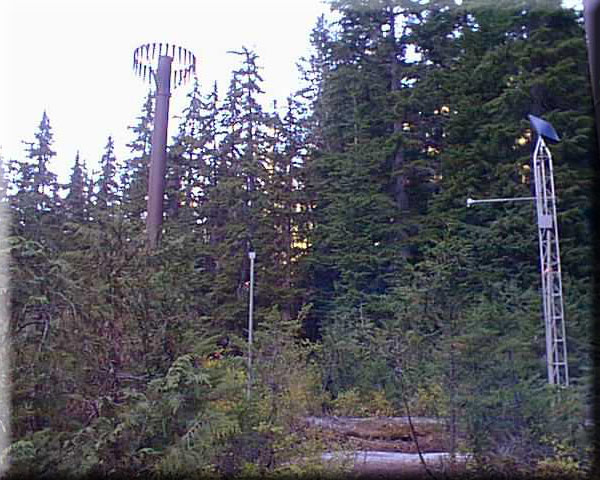 Photograph is of the Beaver Pass  SNOTEL site.