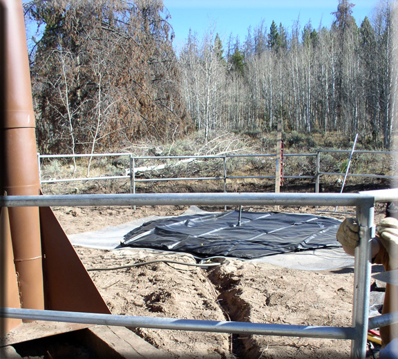 Photograph is of the Bear River RS  SNOTEL site.